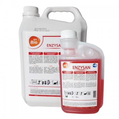 Detergent biotehnologic de curățare parfumat Polbio ENZYSAN 1L / 5L