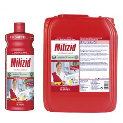 Detergent sanitar Milizid 1 L / 10 L